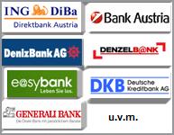 sparen - Geld anlegen bei Banken in Österreich